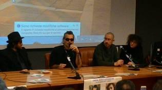 Piero Pelù al L'Aquila Film Festival