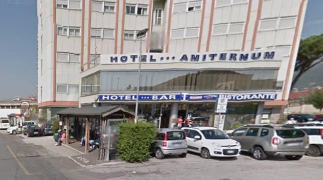 hotel amiternum fermata bus