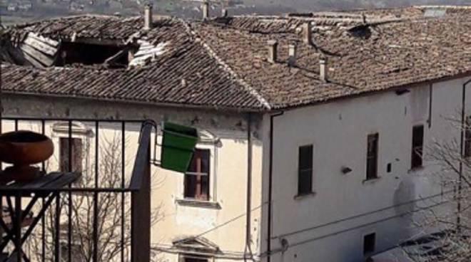 palazzo cappelli 2 tetto sfondato