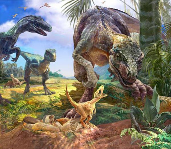 Scoperte in Abruzzo impronte di dinosauro vecchie 123 milioni di anni