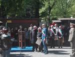 25 aprile: la cerimonia alla Villa comunale