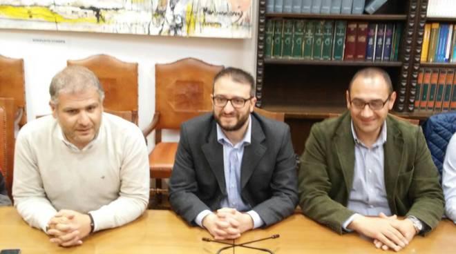 conferenza stampa Noi con Salvini -Biondi