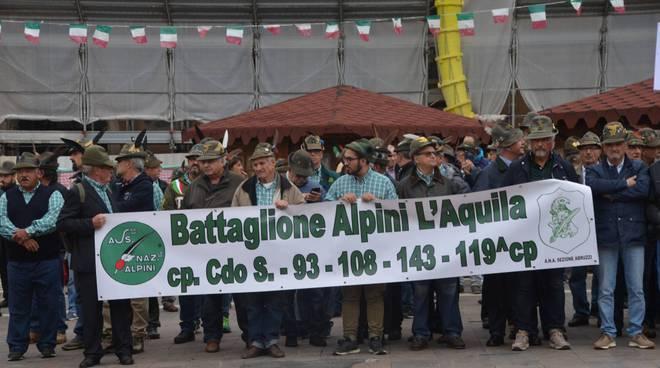 Adunata Ricordando il Battaglione Alpini L'Aquila