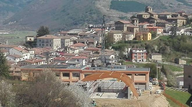 montereale, lavori post sisma