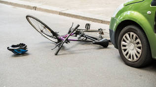 bicicletta incidente