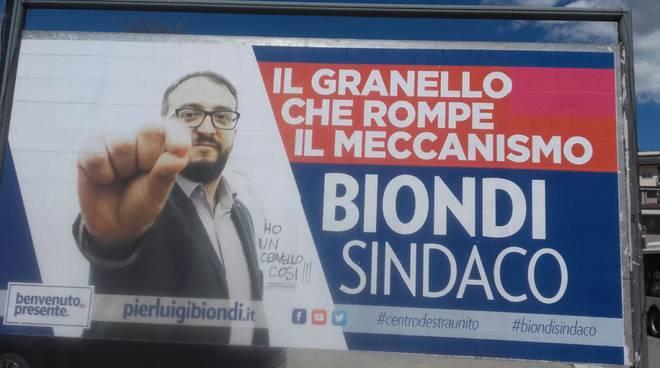 biondi manifesto elettorale