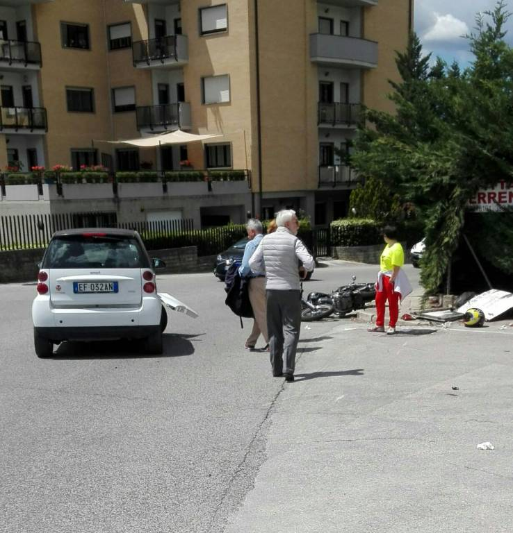 incidente via brancastello