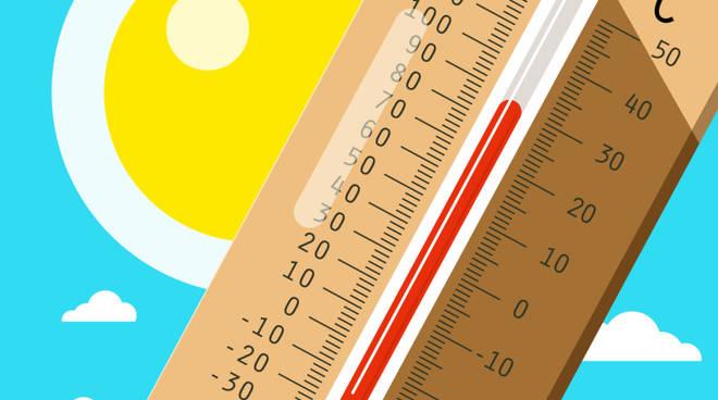 Caronte fa impennare le temperature, picchi di 40 gradi