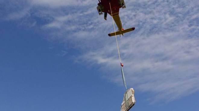 cerimonia ricordo caduti elicottero 118 campo felice