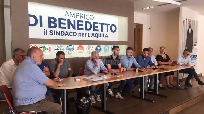 Conferenza Stampa Americo Di Benedetto