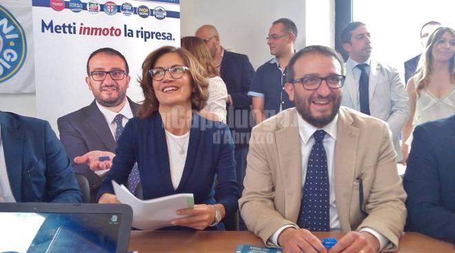 Mariastella Gelmini e Pierluigi Biondi