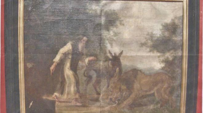Serra Club dipinto Celestino V
