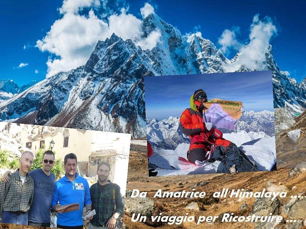 Amatrice sull'Everest