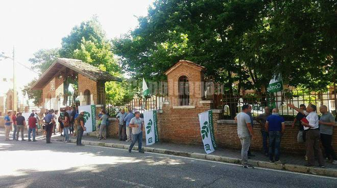 Protesta Parco Sirente