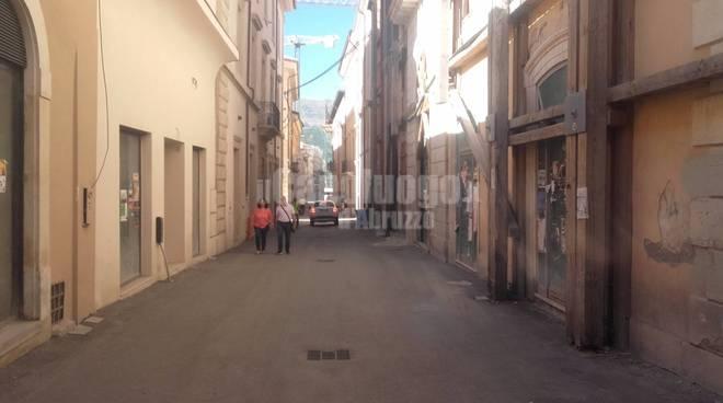 quattro cantoni l'aquila centro storico