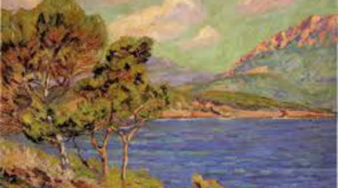 dipinto lago