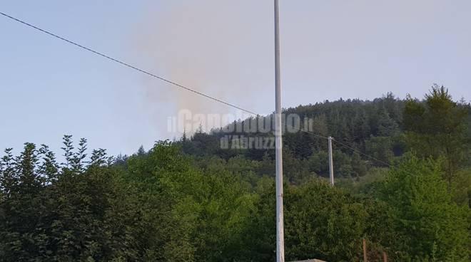 Incendio Fonte Vetica: sei identificati hanno acceso il fuoco