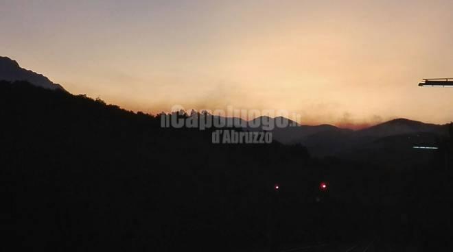 incendio secinaro giorno 2