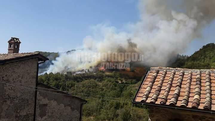 Incendio Tornimparte
