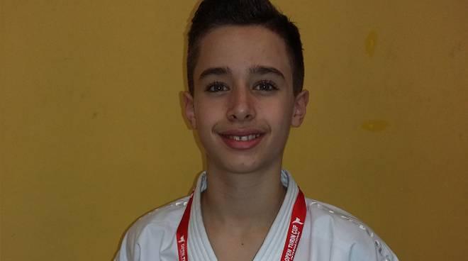 Federico Arnone sport karate