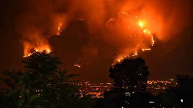 incendio Morrone