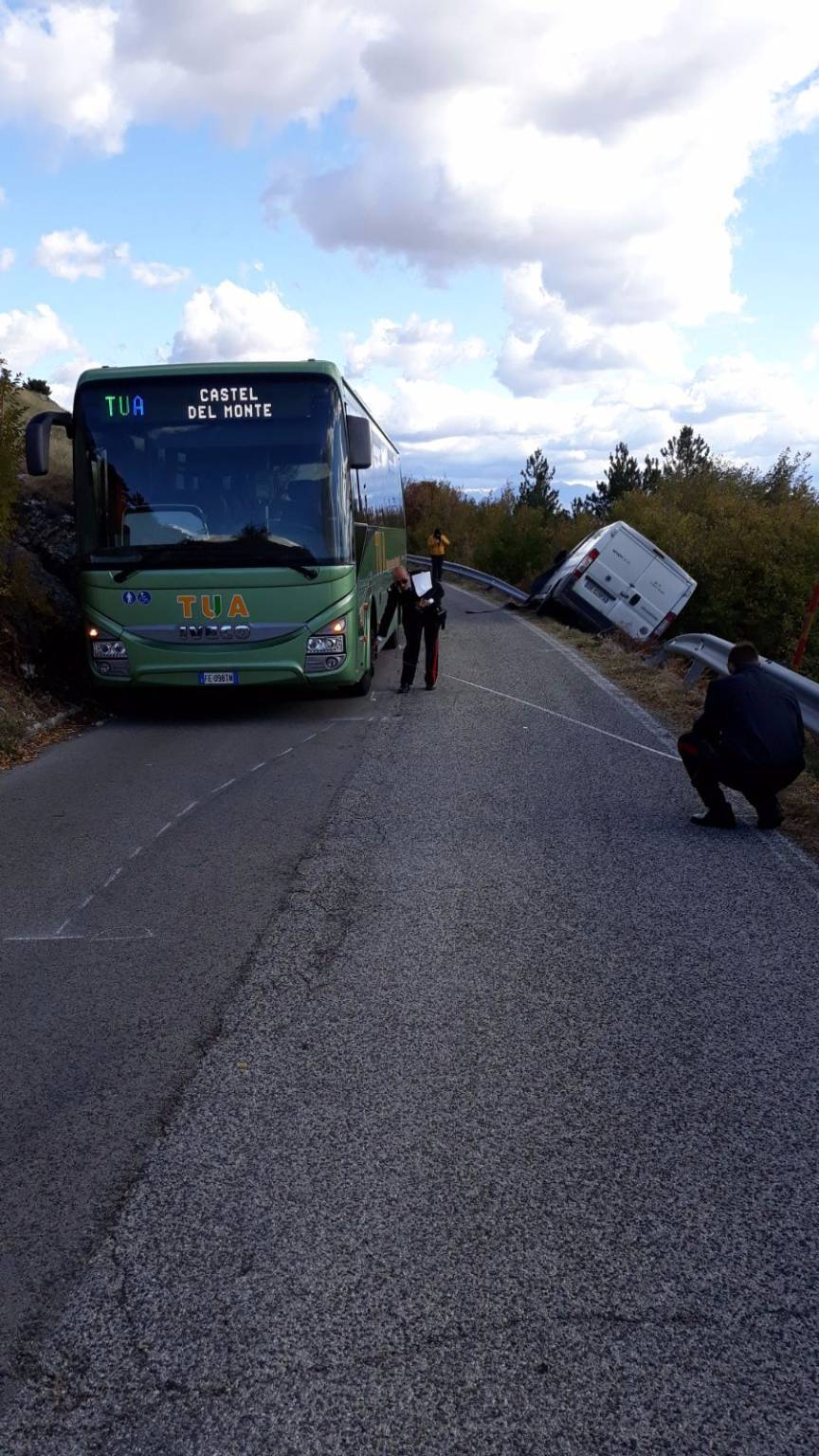 bus tua incidente
