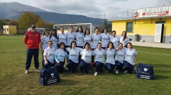 squadra unione aquilana calcio femminile
