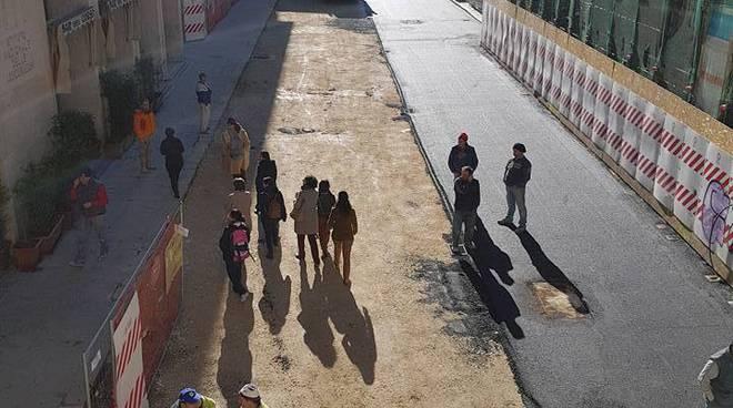 asfalto corso vittorio emanuele