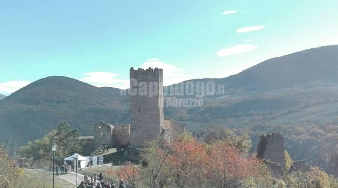Beffi, fiera della capra: torre medievale