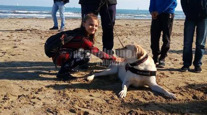 pet therapy al mare cesaproba