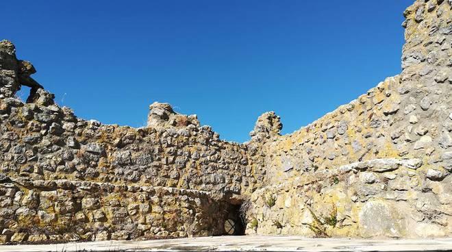torre medievale beffi: vista dalla terrazza