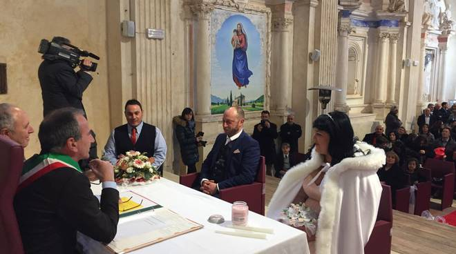 matrimonio massimo e luciana