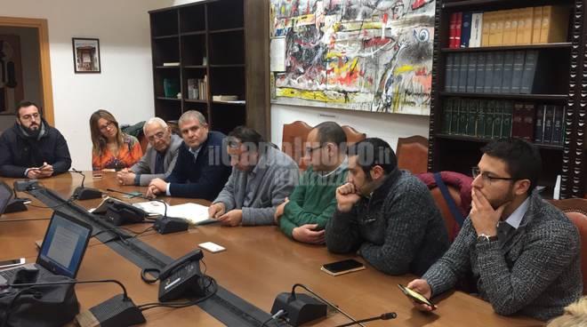 conferenza stampa ncs Giuliante ferella imprudente d'eramo
