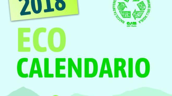 Calendario Raccolta Differenziata Teramo.Eco Calendario 2018 Distribuzione Gratuita Il Capoluogo