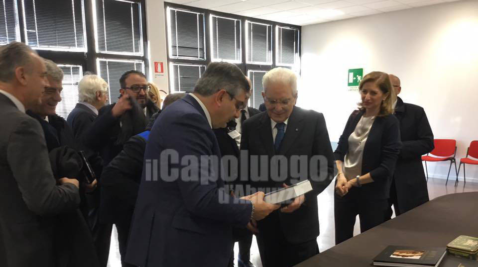 Mattarella all'INFN