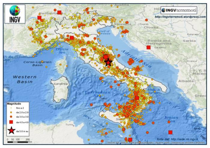 Forte scossa di terremoto: paura al Nord