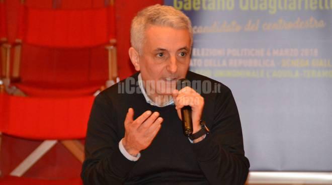 gaetano quagliarello incontro politiche 2018 forza italia