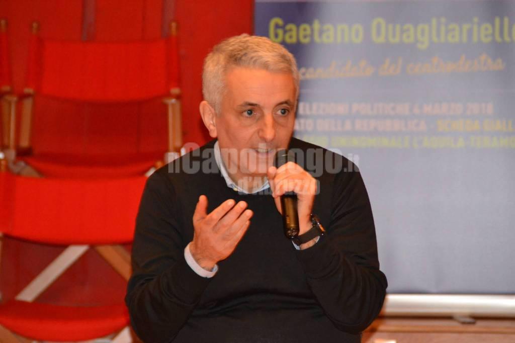 gaetano guagliarello incontro politiche 2018 forza italia
