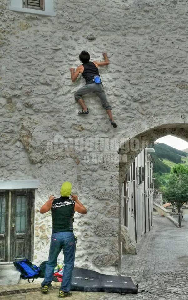 Gollum Climbing Center Roberto Cantalini e Angelo Colaiuda
