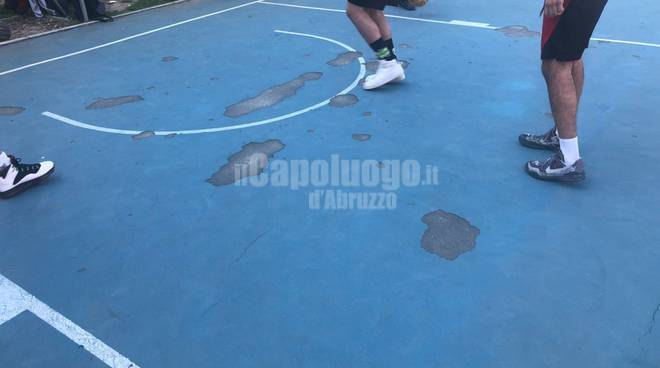 campo basket strinella