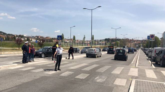 incidente viale corrado IV