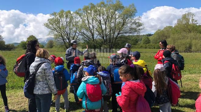 Riserva Naturale Campotosto, 200 studenti esplorano le nostre meraviglie