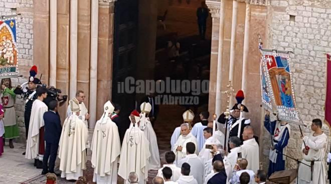perdonanza 2018 apertura porta santa
