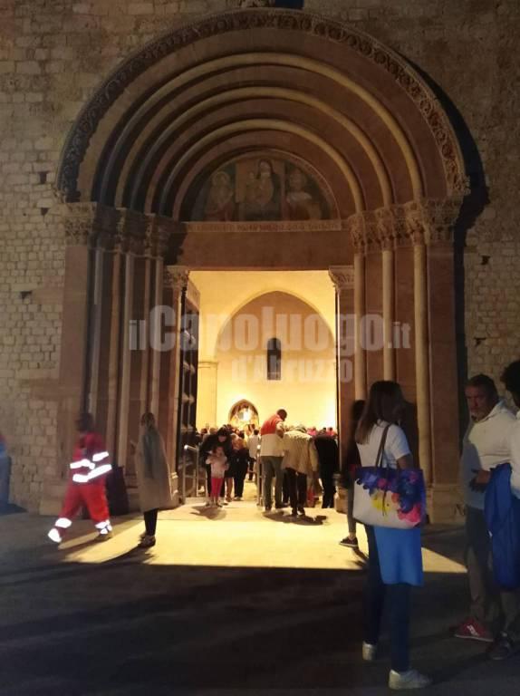 Perdonanza 2018, la Santa Messa nella Basilica di Collemaggio