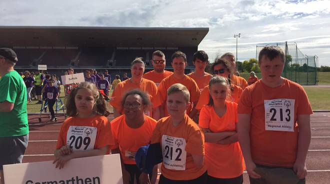 Special Olympics Carmarthen