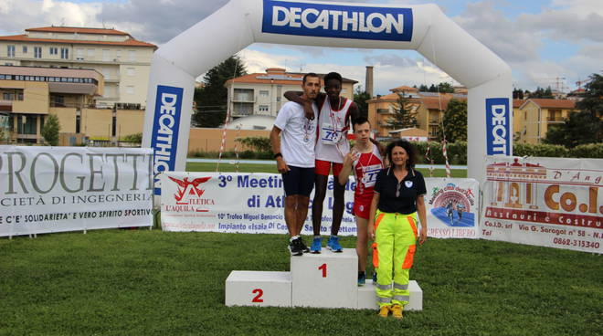 atletica l'aquila miguel ,michela meeting