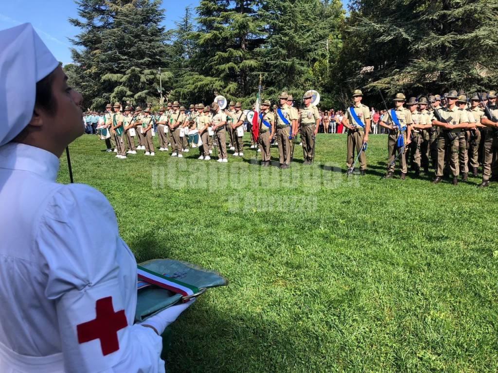 Croce d'Argento al 9° reggimento Alpini L'Aquila