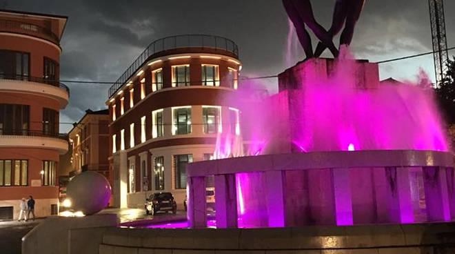 fontana luminosa combattenti