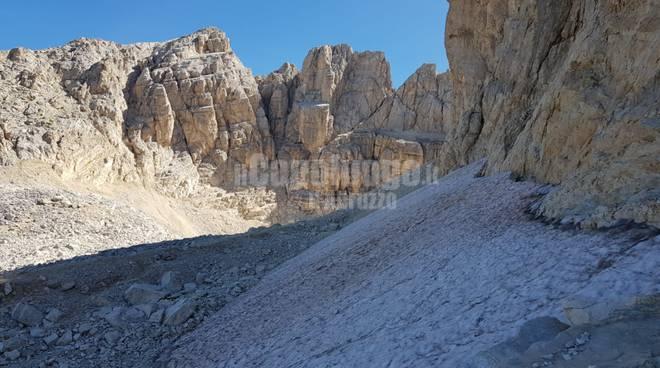 ghiacciaio del calderone - gran sasso