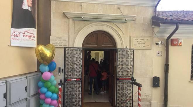 inaugurazione scuole micarelli